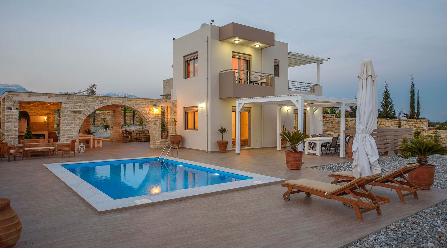 Villas in Kamilari south Crete